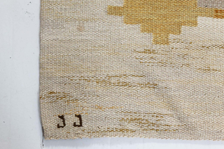 Mid-century Björkered Rölakansmatta by Judith Johansson BB7359