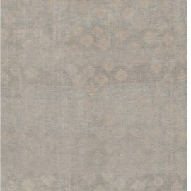 Contemporary Hand Woven Wool Runner N12134