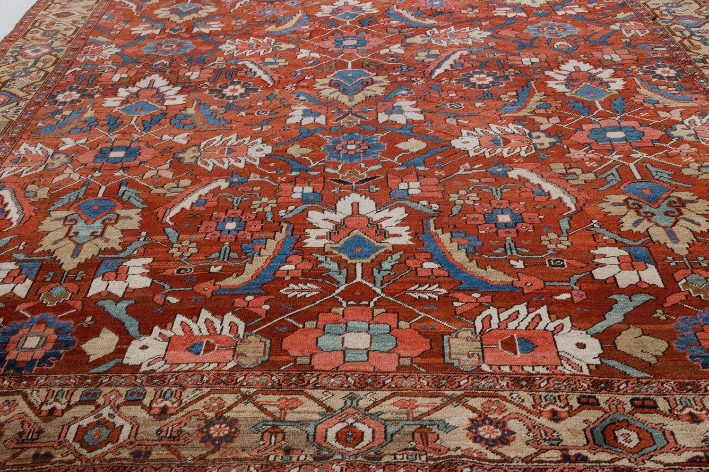 Antique Persian Heriz Rug BB7373