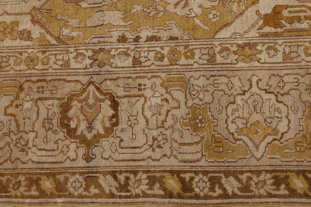 Antique Indian Amritsar Rug (Size Adjusted) BB7374