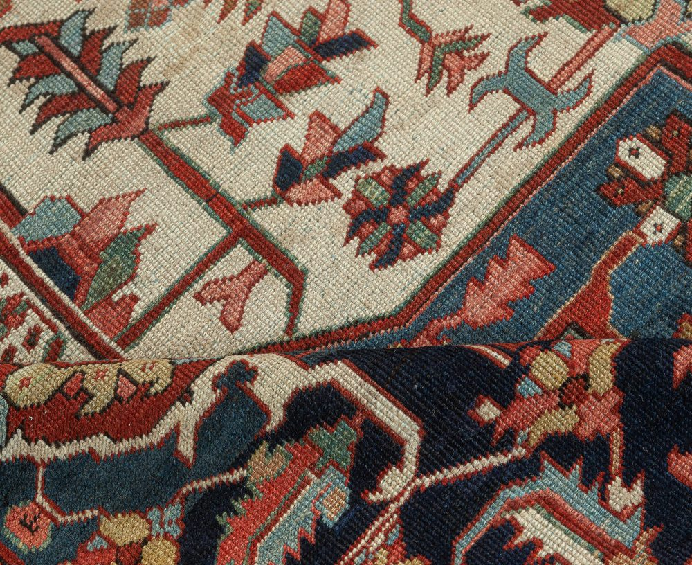 Antique Persian Heriz Rug BB7575