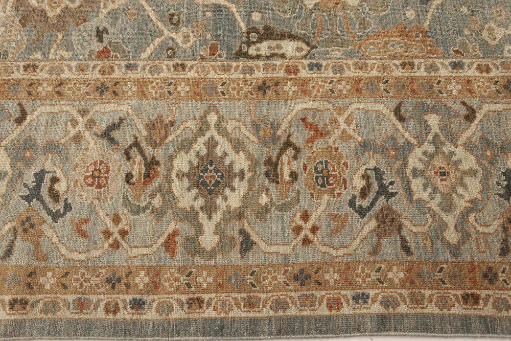 Sultanabad Style Wool Rug N12154