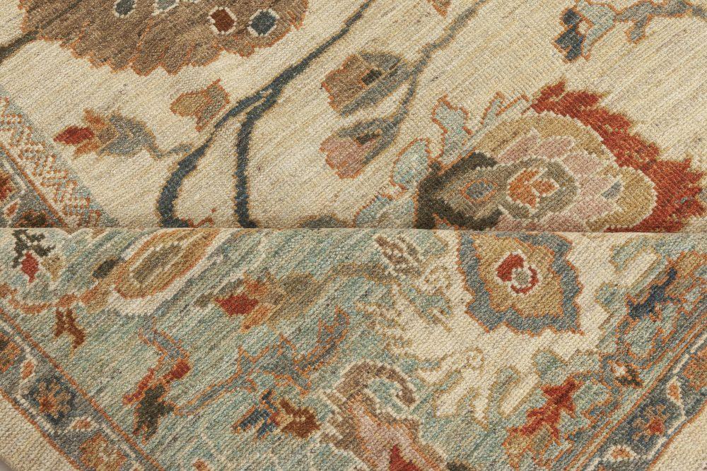 Sultanabad Style Wool Rug N12156