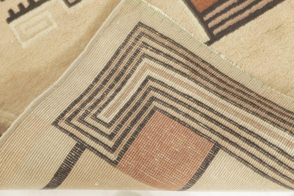 Vintage Art Deco rug BB7583