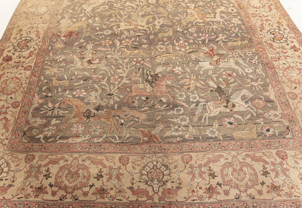 Antique Turkish Hereke Rug BB7593