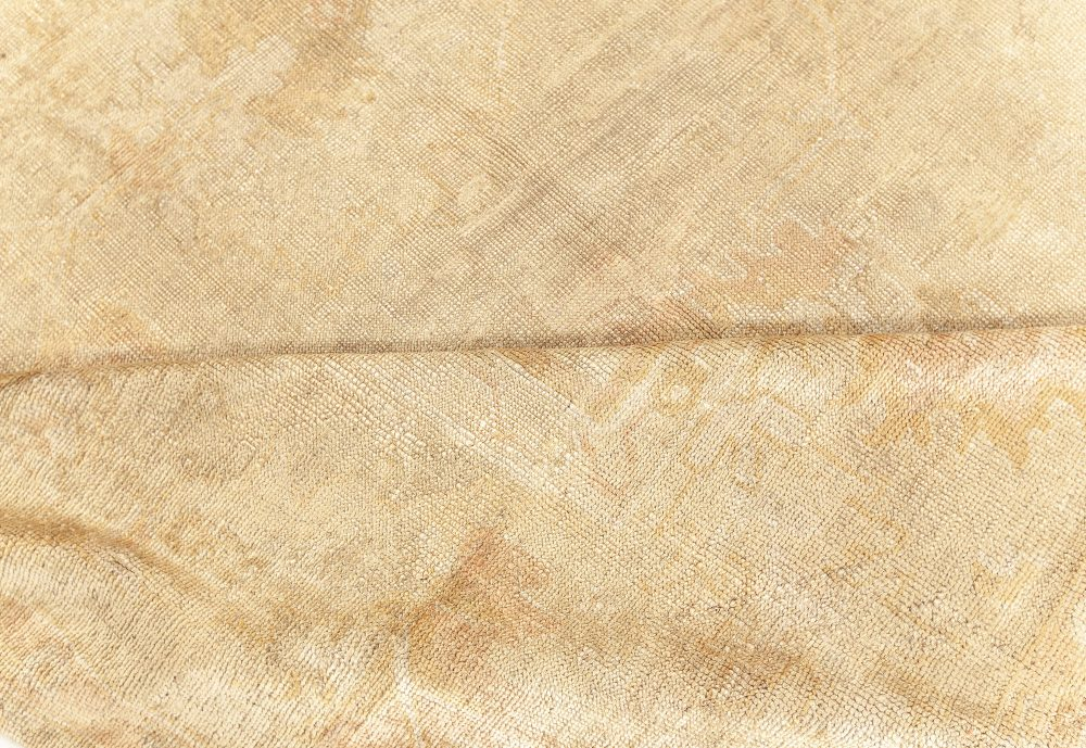 Antique Turkish Oushak Rug  (Size Adjusted) BB7596