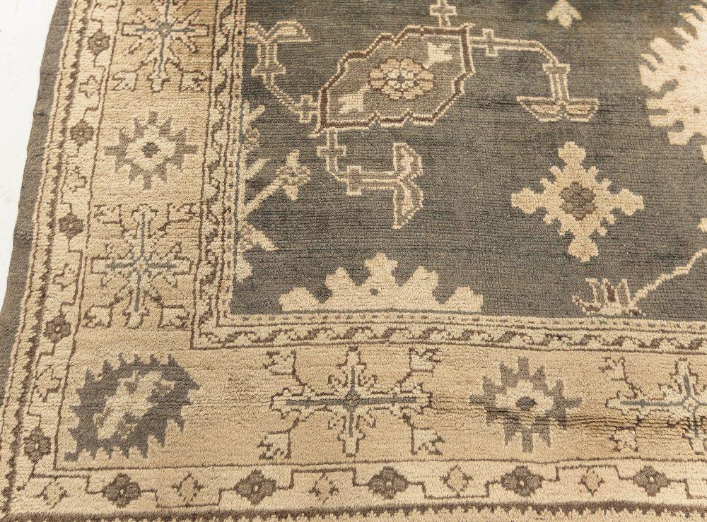Antique Turkish Oushak Rug BB7598