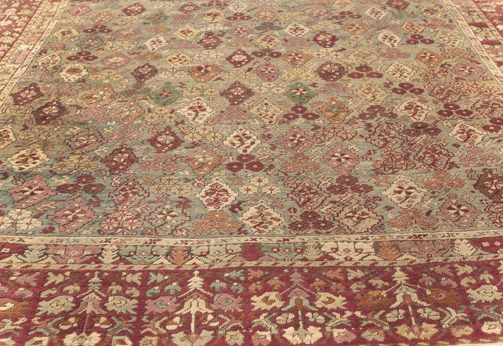 Antique Turkish Ghiordes  Rug   (Size Adjusted) BB7599