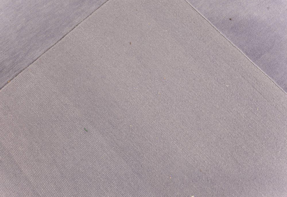Oversized Amethyst Mohair Rug N12170