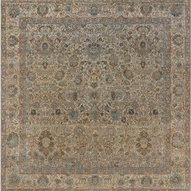 Antique Persian Kirman Rug (Size Adjusted) BB7590