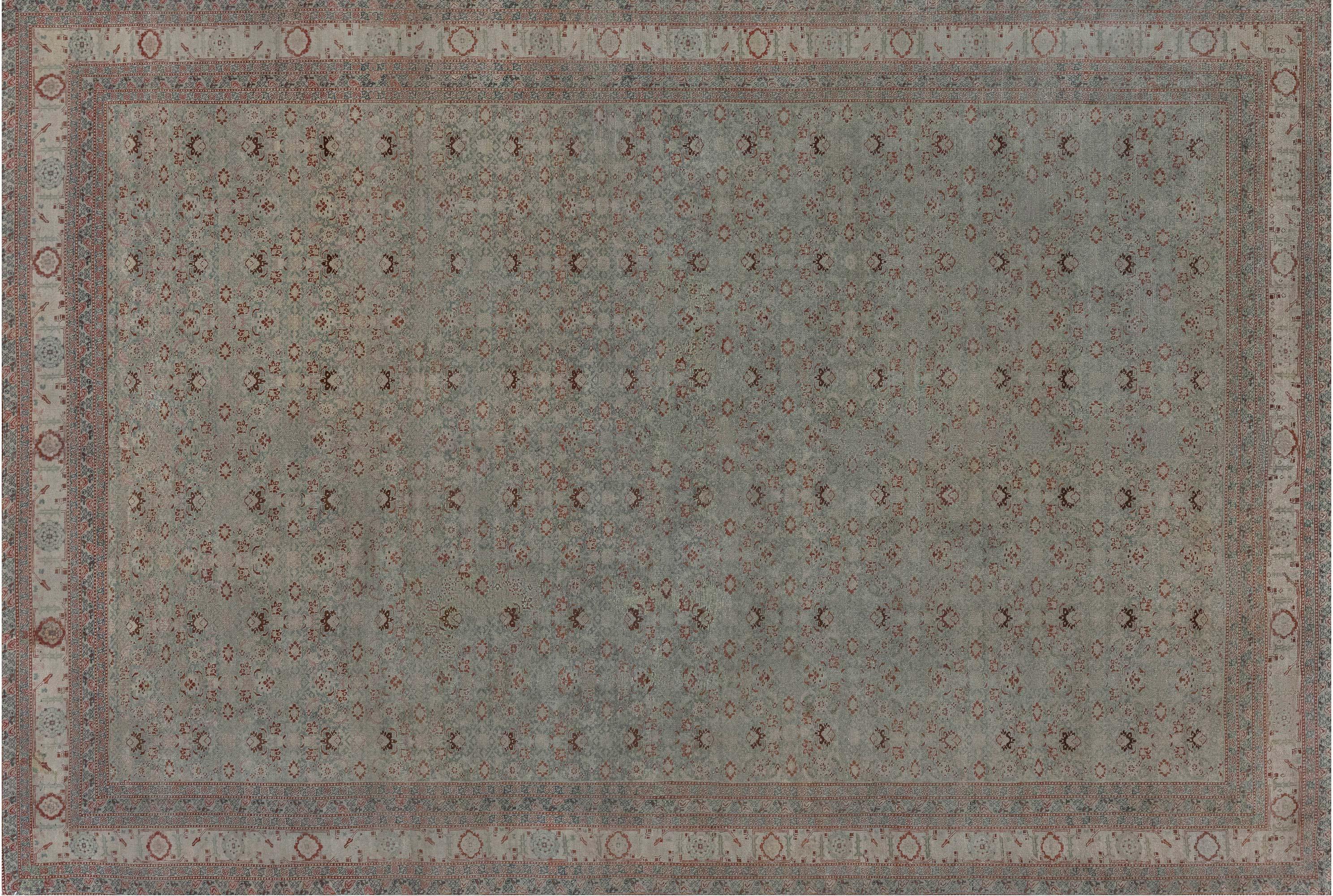 Vintage persischer Tabriz Teppich BB7281