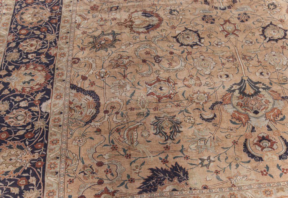 High-quality Antique Silk Tabriz Rug BB7617