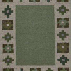 Vintage Swedish Flat weave Rug BB7603