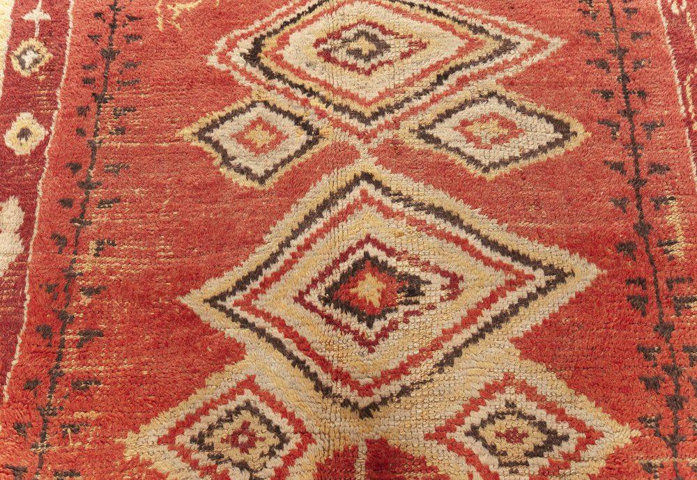 Authentic Vintage Moroccan Rug BB7613