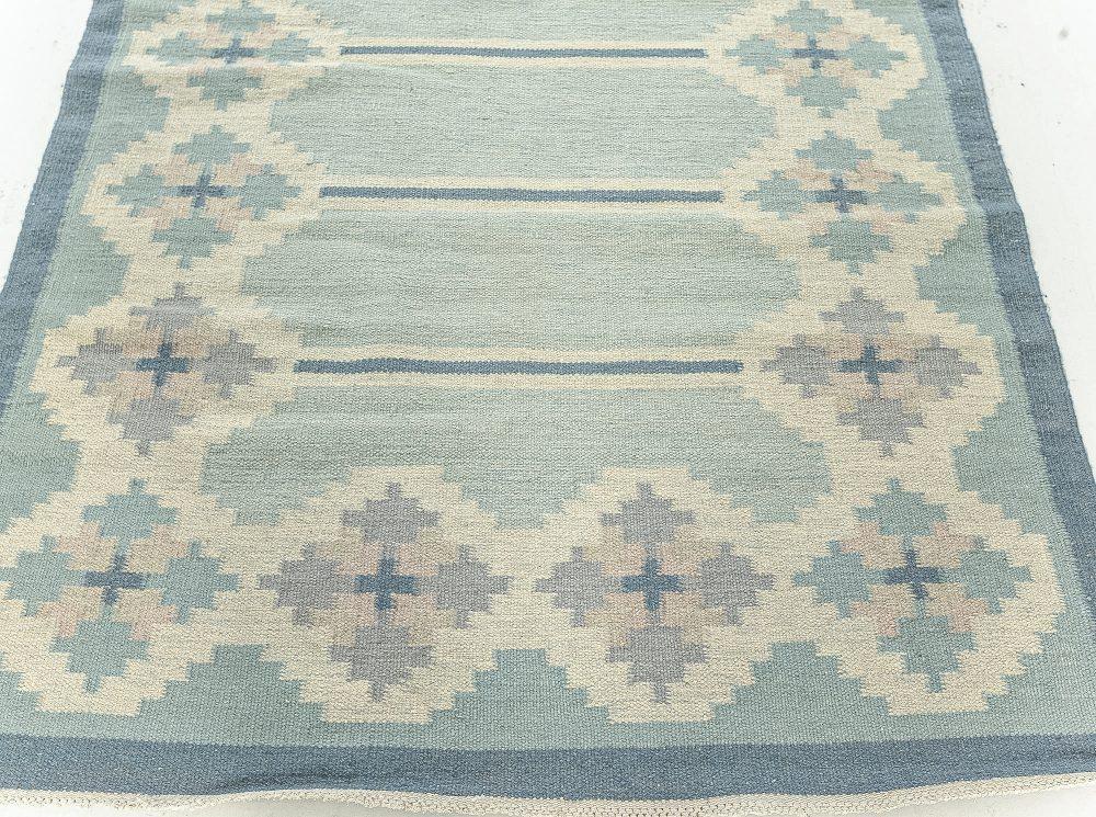 Vintage Swedish Flat Weave  Rug BB7618