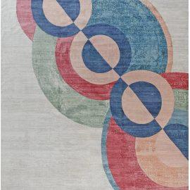 New Inspired Art Deco Rug N12198
