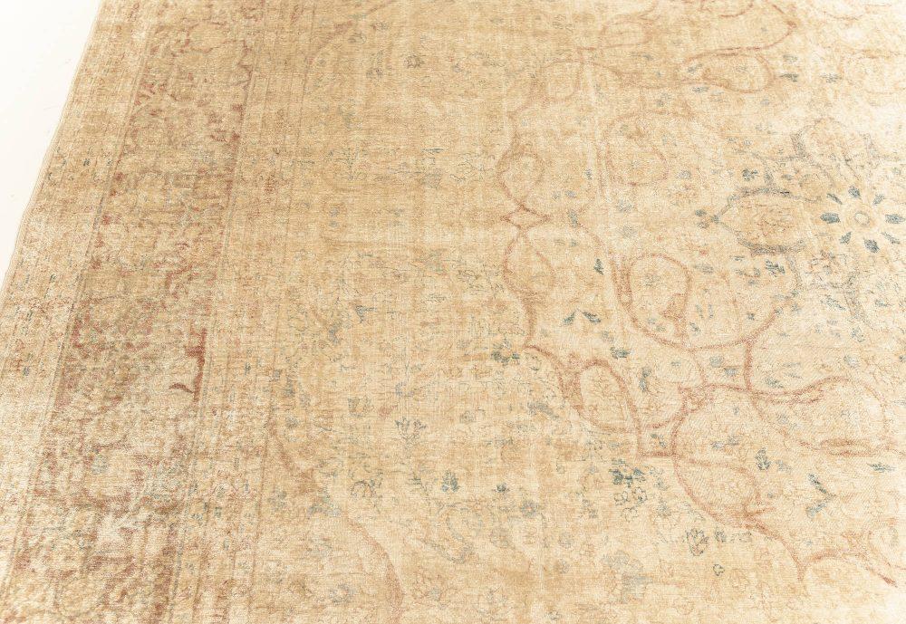 Antique Persian Silk Tabriz Rug BB7632