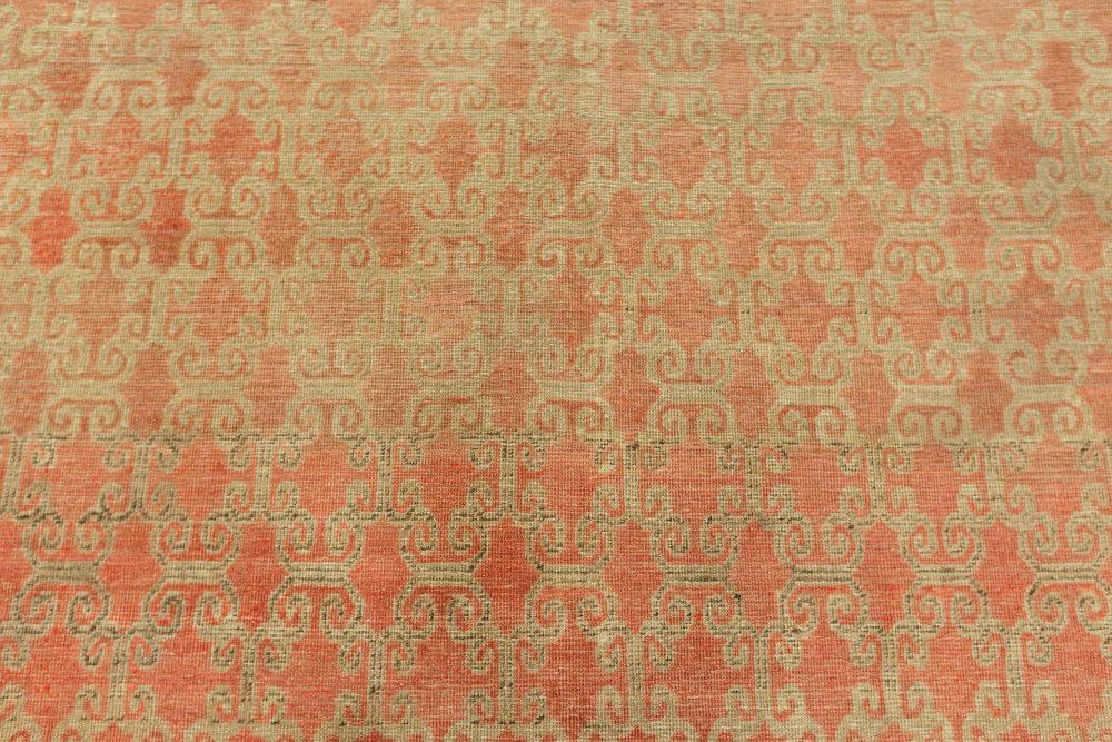 Vintage Pink Samarkand Rug BB7634
