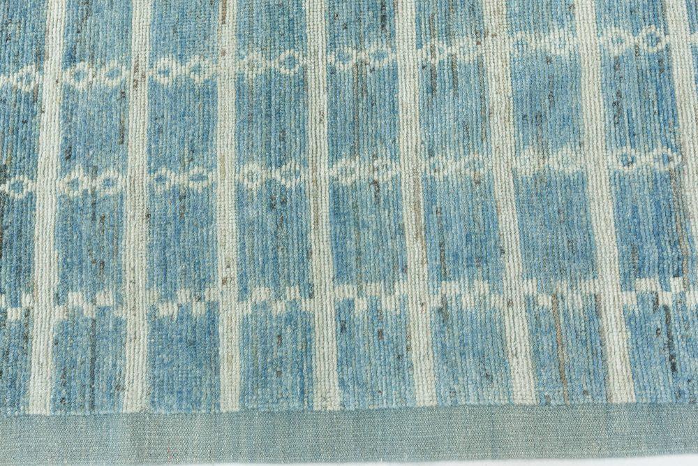 One-of-a-kind Blue Pergolas Rug N12206