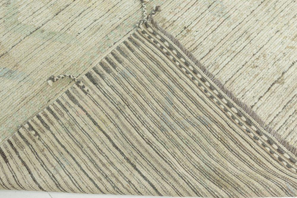 Modern Textural Tribal Rug N12209