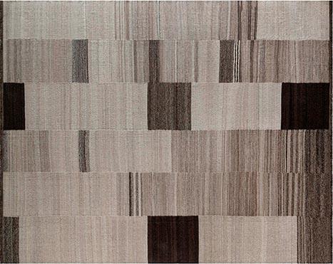 Neuer zeitgenössischer Kelim-Teppich N12250