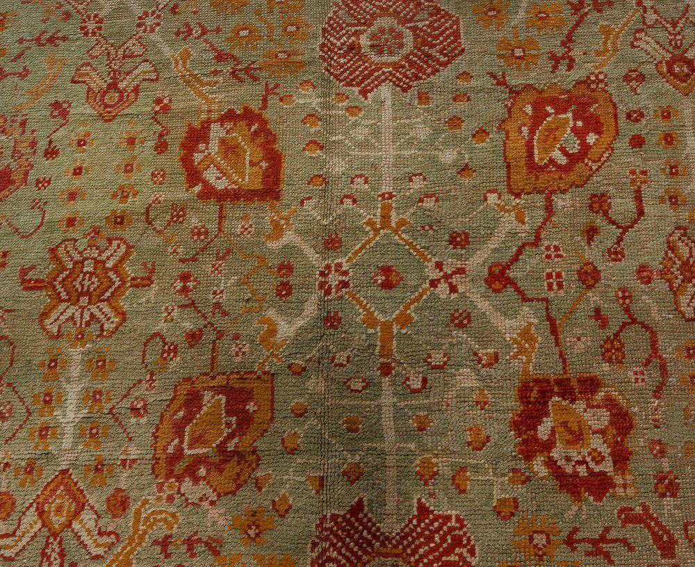 Handmade Antique Decorative Turkish Oushak Rug BB7644