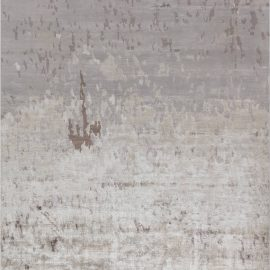 Contemporary Hand Knotted Silk Area Rug N12237