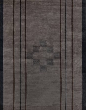 Handmade Vintage Swedish Flat Weave Rug BB7630