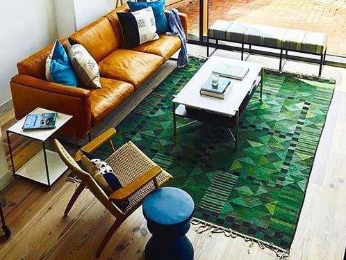 Vintage Kilims in Modern Interiors