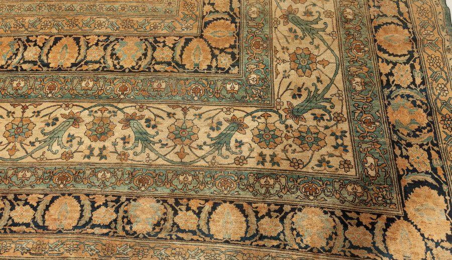 Antique Persian Kirman Rug (Size Adjusted) BB7647