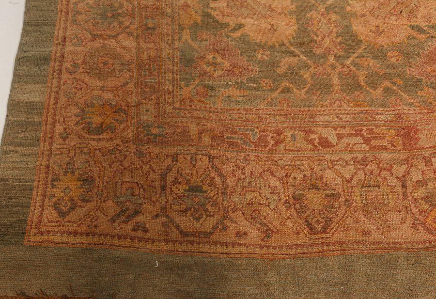 Antique Turkish Oushak Rug BB7649