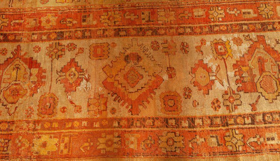 Antique Turkish Oushak Rug (size Adjusted) BB7650