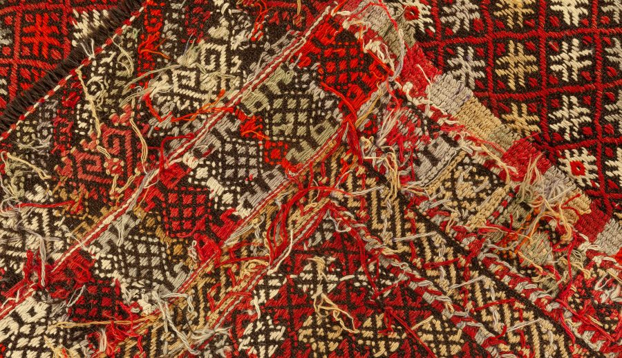 Vintage Rag Rug BB7652