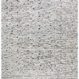 Modern River-Dance Mohair carpet N12279
