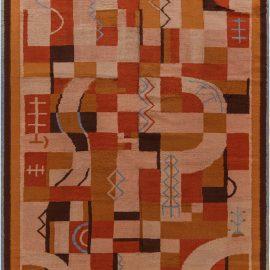Vintage French Art Deco Rug BB7663