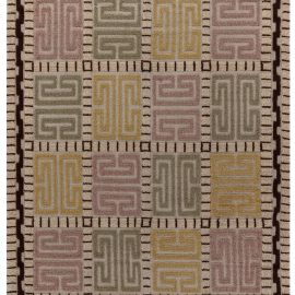 Vintage Swedish High and Low Rug by Marta Mass-fjetterström BB7658